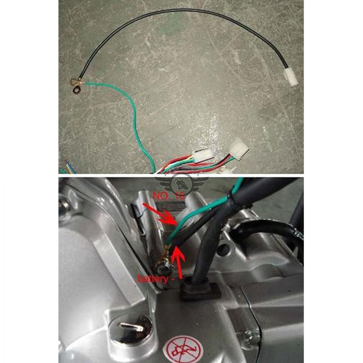 Schema Elettrico Quad 110 : Impianto cablaggio elettrico pit bike e quad atv minimotolandia