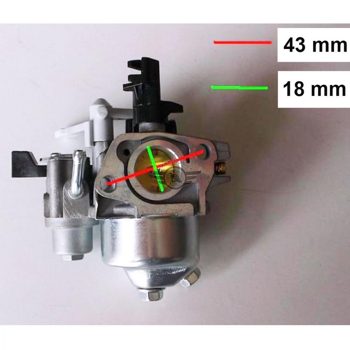 Carburatore Per Motozappa Motore 6 5 Hp 196 200cc Minimotolandia