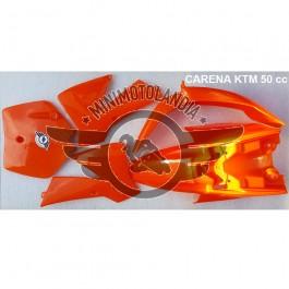 Carena Arancione Per Minicross Replica KTM Vecchio Modello Morini Lem Italjet