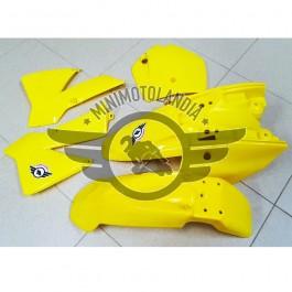 Carena Per Minicross Replica KTM Vecchio Modello Morini Lem Italjet Giallo