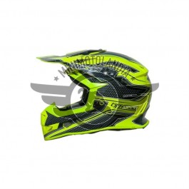 Casco Cross Viper Taglia S FLUO by One