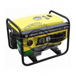 Generatore Corrente HS 3000w 50Hz 220v Motore 200cc 6.5HP