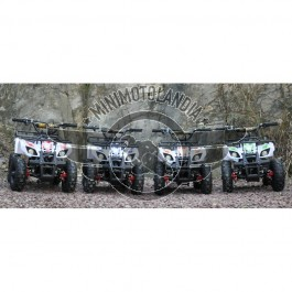 "Miniquad ATV Hummer Elettrico 1000W 36V Cerchio 6"""