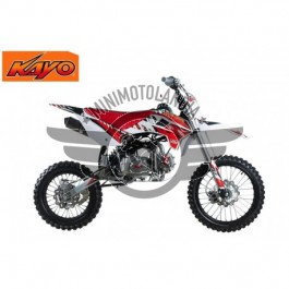 "Pit Bike KRZ 140cc KAYO Cerchio 17""-14"" Cross Racing 4 Tempi"