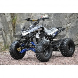 """Quad ATV 125 cc Sport Cerchio 8"""" Semiautomatico 3 marce + retromarcia"""