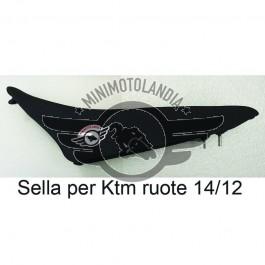 Sella Per Carena Minicross Replica KTM 50 SX Ruote da 14/12