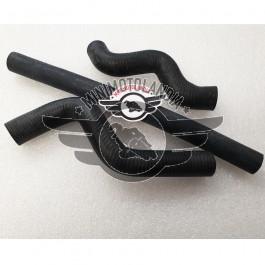 Set 3 pezzi Tubi Radiatore Minicross Morini 65cc