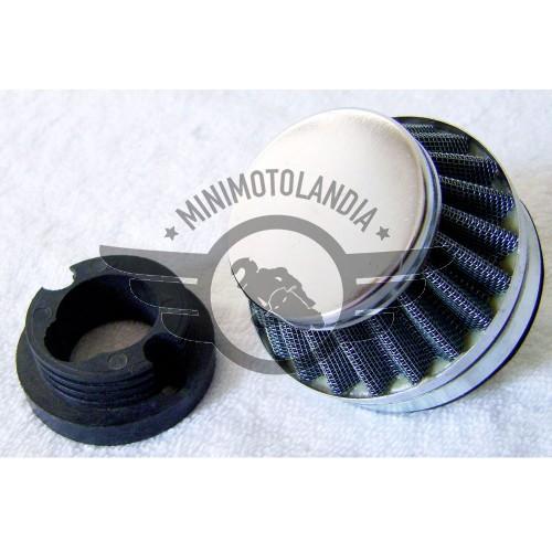 Adattatore E Filtro Per Carburatore 12mm Minimoto