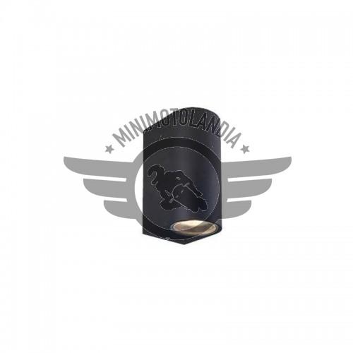 Plafoniera Doppia Luce 2XGU10 220V LED Supporto Muro Esterno Interno