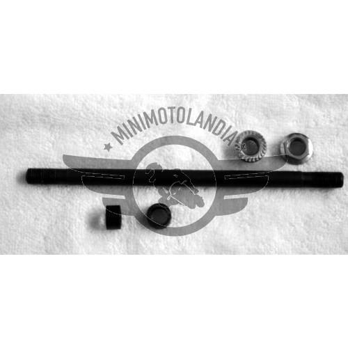 Asse Ruota Perno Anteriore Lunghezza 14cm Per Minimoto