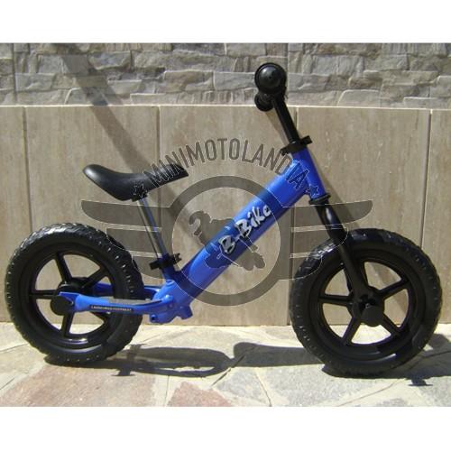 Bicicletta Blu Senza Pedali Pedagogica Equilibrio Bambini