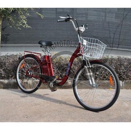 Bicicletta Elettrica 36v 250w Con Cambio Shimano