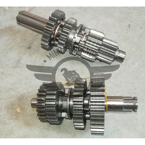 Cambio Motore YX 125cc Ingranaggi Albero Primario + Secondario
