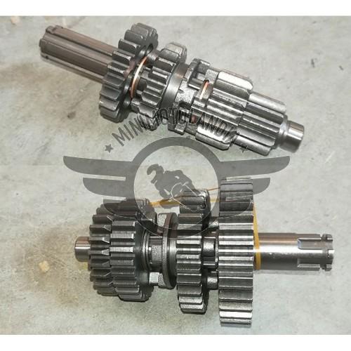 Cambio Motore YX 125cc Albero Primario + Secondario