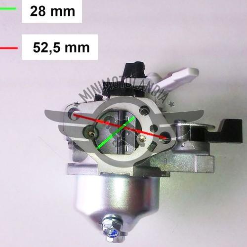 Carburatore Per Motozappa Motore 9 HP 196/200cc