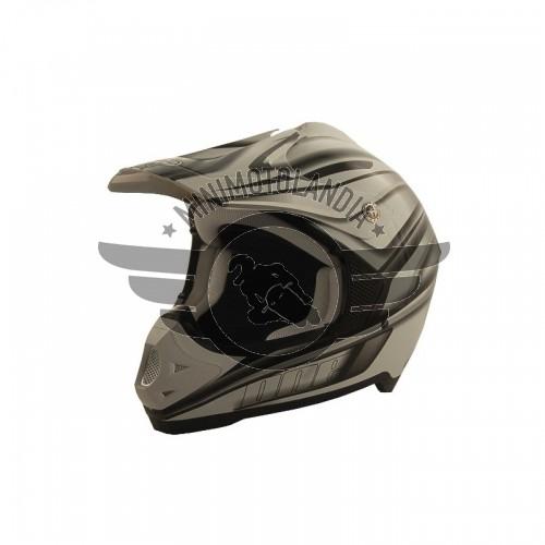 Casco One Grifone Protezione Moto Cross Enduro Offroad Omologato Tg. L