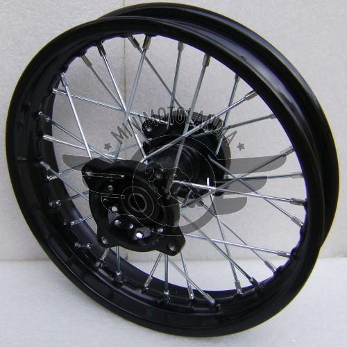 """Cerchio 14"""" Posteriore Perno 15mm Pit Bike"""