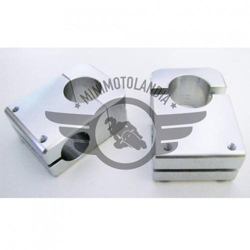 Braccialetti Mozzetti Sterzo CNC Diametro 28mm Minimoto