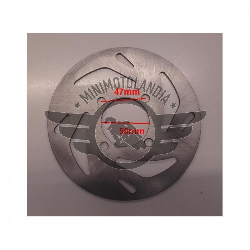 Disco Freno 18 cm Per Minicross Replica KTM Lem Italjet