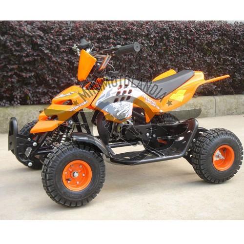"""Miniquad Raptor 49cc 2 Tempi Cerchio 4"""""""