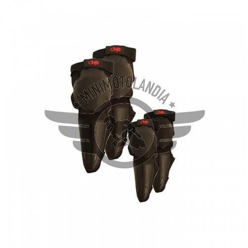 Ginocchiere + Gomitiere Junior One Protezioni Moto Cross Enduro Offroad