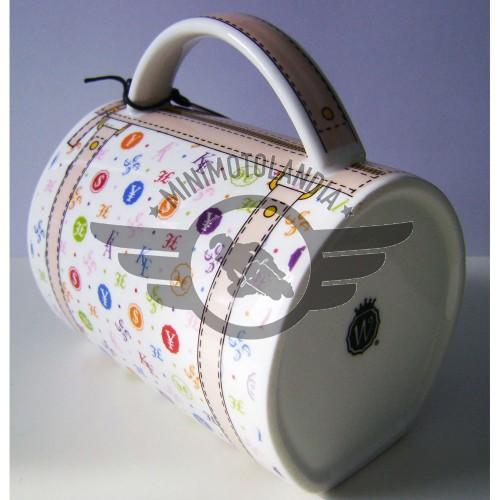 Handbag Mug Wild Eye Tazza A Forma Di Borsetta Di Lusso V.