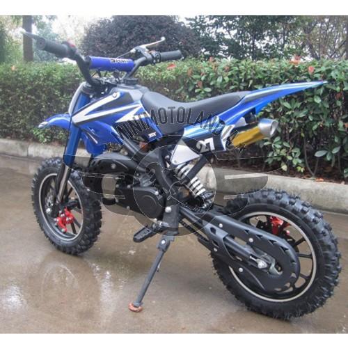 """Midicross 49cc Cerchio 10"""" Minicross 2 Tempi Spider"""