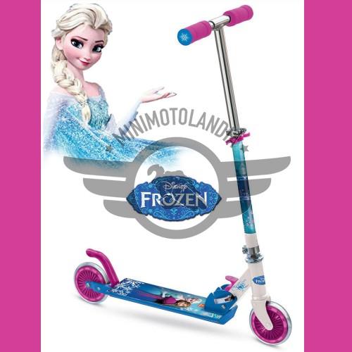 Monopattino Disney Frozen Due Ruote Primo Scooter Bimba