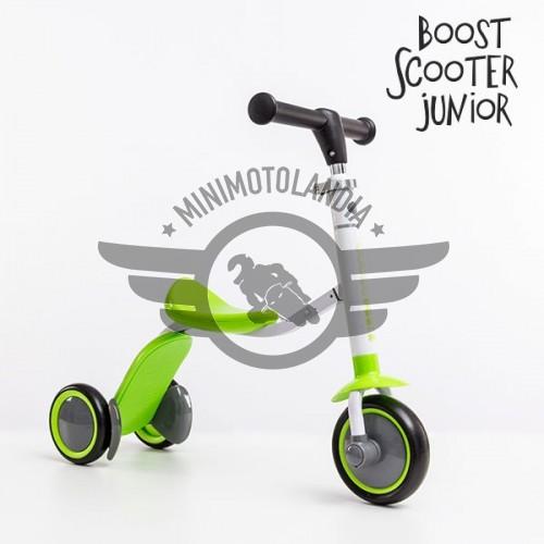 Monopattino-Triciclo Boost Scooter Junior 2 in 1 (3 ruote) Bambini
