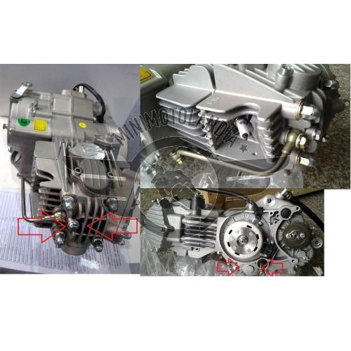 Motore YX 185cc ZR-1 Piattelli Ergal e Doppio Filtro Olio Incorporato