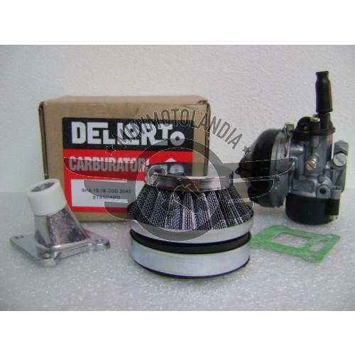 Carburatore Dell'Orto SHA 16mm+Collettore+Filtro Racing