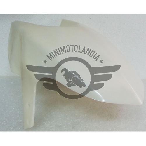 Parafango Anteriore Bianco Ricambio Per Minimoto