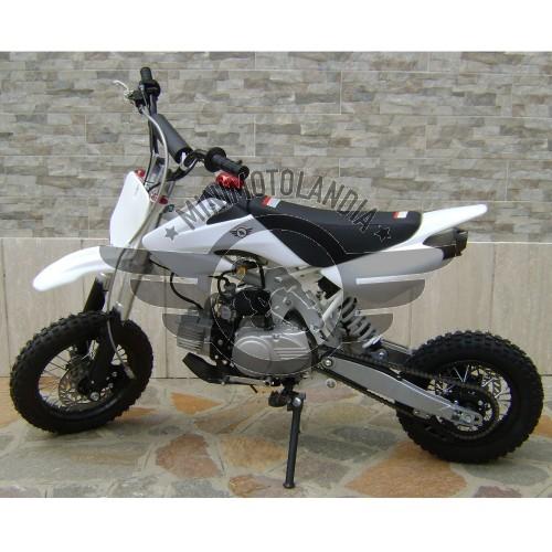 """Pit Bike CRF 50 Cerchi 12""""-10"""" Semiautomatico 110cc 4 Tempi"""