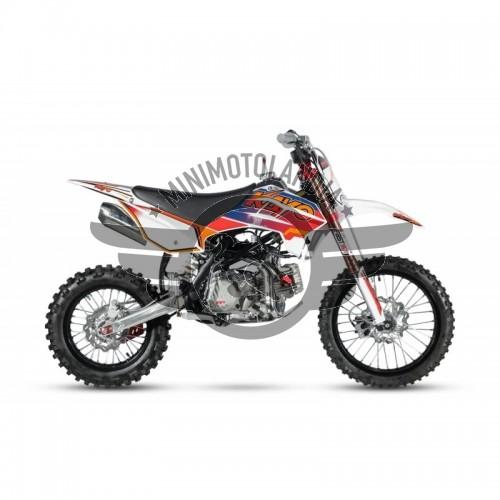 "Pit Bike TT190 190cc KAYO Racing Cross Cerchi 17""-14"""