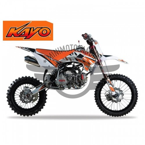"Pit Bike KRZ 170cc KAYO Racing Cross Cerchi 17-14"""