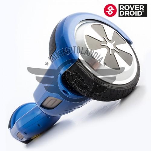 Mini Scooter Elettrico di Auto Equilibrio (2 ruote) Rover Droid Blu Overboard