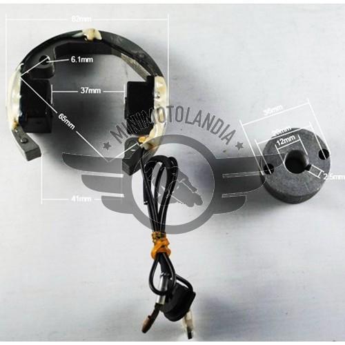 Statore Accensione Rotore Completo E Bobina Replica KTM