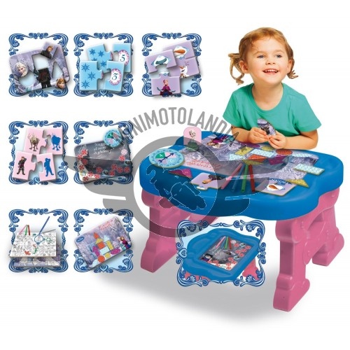 Tavolino Educativo Disney Frozen Lisciani