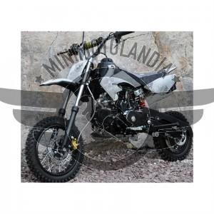 "Pit Bike CRF 50 Cross 12-10"" Semiautomatico 110cc 4 Tempi Marce"