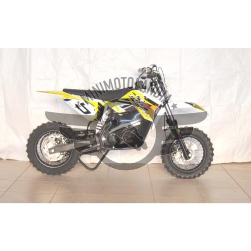 """Midicross Motore Elettrico 800W Minicross Batteria Cerchio 10"""""""