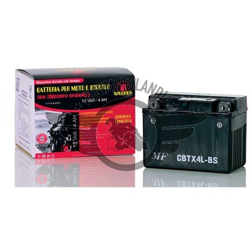 Batteria Maggiorata 6,5 AH 12V PIT BIKE QUAD