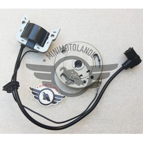 Bobina e Volano Per Motore Minicross Replica Morini