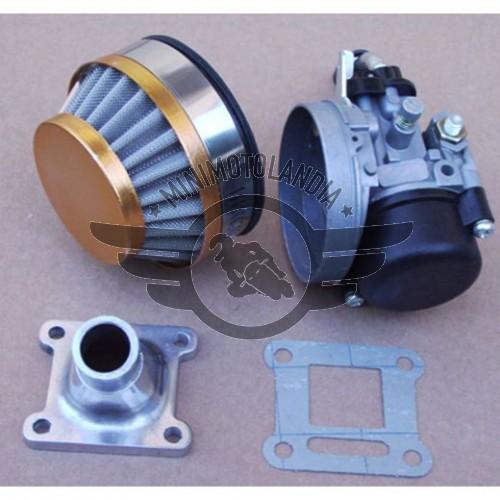 Carburatore Cinese Completo 14mm Aria 49cc