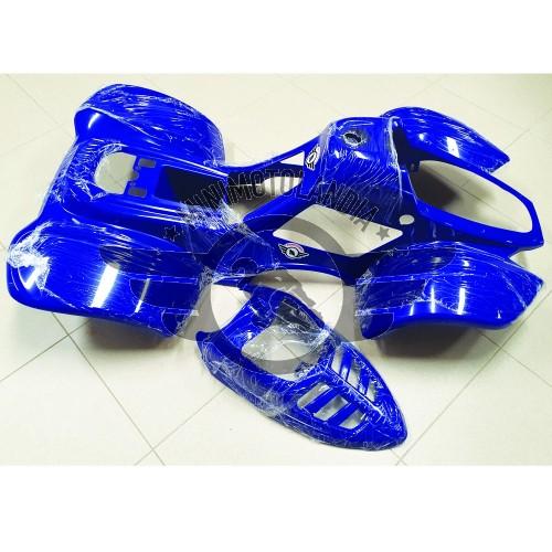 "Carena Blu Per Quad Bamboo 110cc Cerchio 6"" Kit Plastiche ATV"