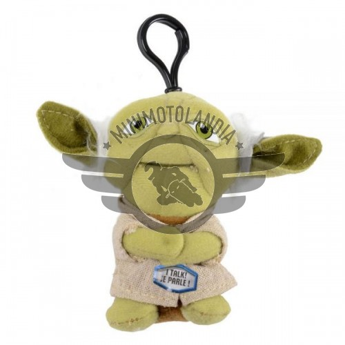 Star Wars Personaggio Yoda Mini Peluche Portachiavi