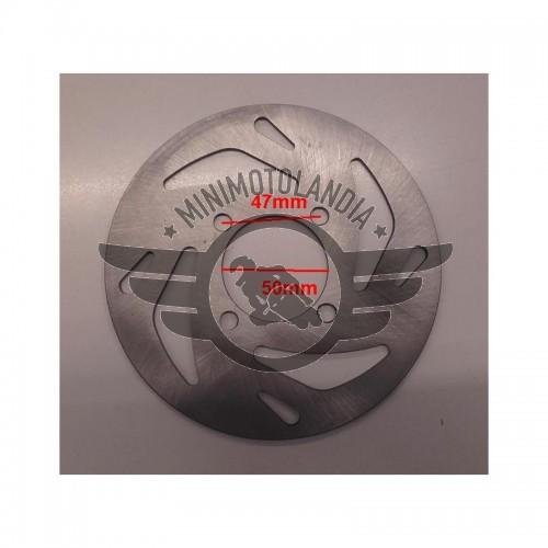 Disco Freno 19 cm Per Minicross Replica KTM Lem Italjet