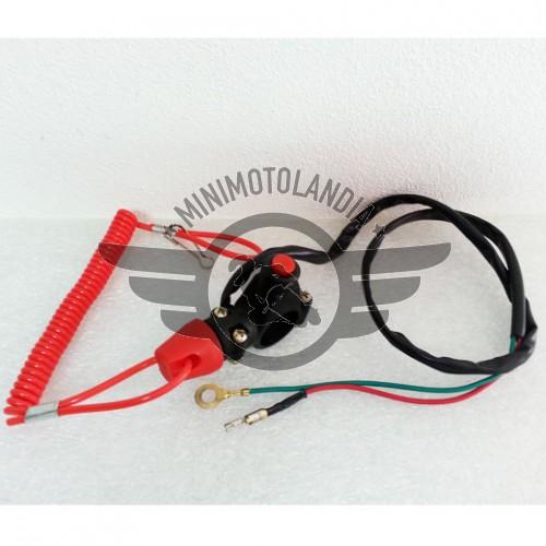 Tasto Engine Comando Con Dispositivo Spengimento