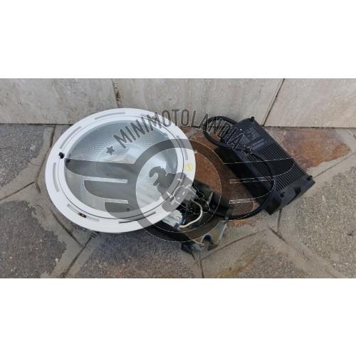 Faro Reggiani 2x26 Watt Bianco Faretti Diametro 20cm
