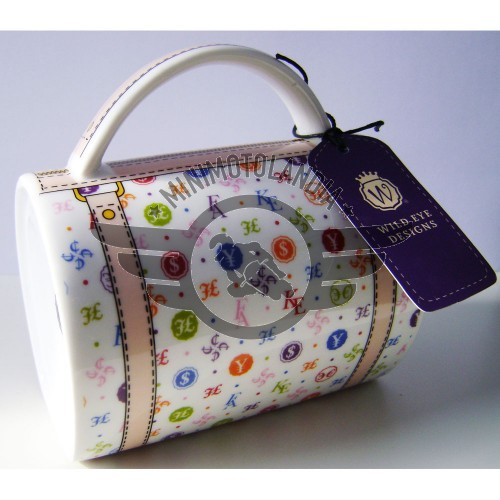 Tazza A Forma Di Borsetta Di Lusso V. Handbag Mug Wild Eye