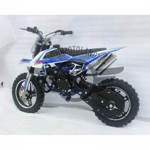 """Midicross Falco 49cc Cerchio 10"""" Minicross 2 Tempi Aria"""